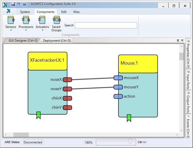 Darstellung des AsTeRICS Frameworks