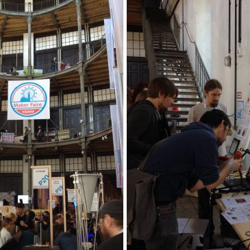 April 2016: AsTeRICS Academy beim Maker Faire VIENNA 2016