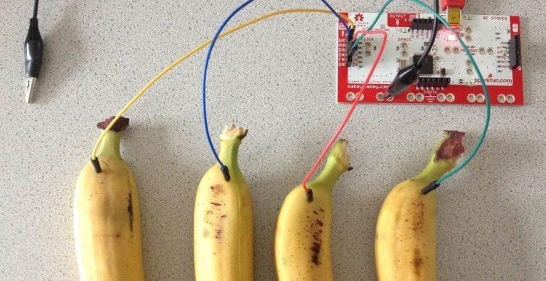 """Das """"Bananen-Klavier"""""""