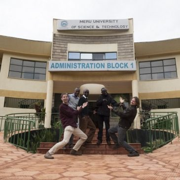 November 2015: Die AsTeRICS Academy fährt nach Kenia