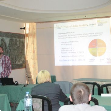 Die 7. ICT Innovations Conference 2015, in Ohrid, Mazedonien