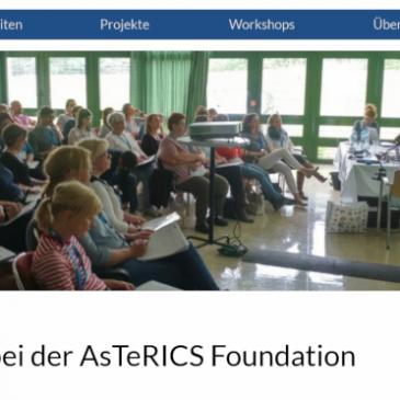 Die AsTeRICS Foundation hat einen Webauftritt