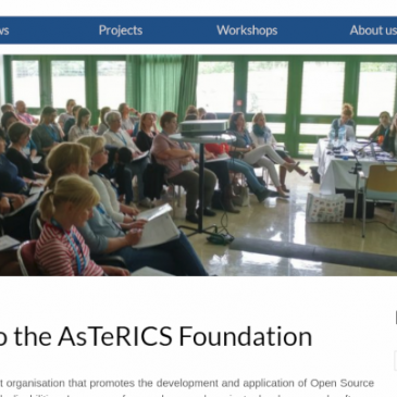 The AsTeRICS Foundation has a website