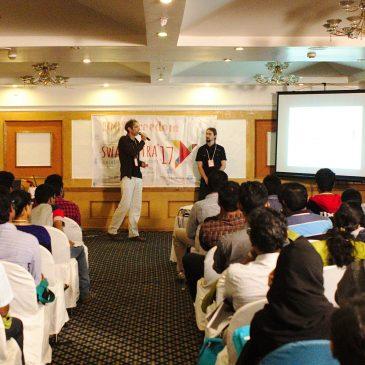 Gastvortrag auf der Swatantra Konferenz in Kerala, Indien