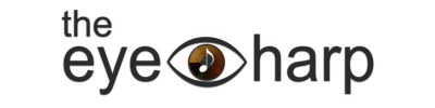 the eye harp-Logo