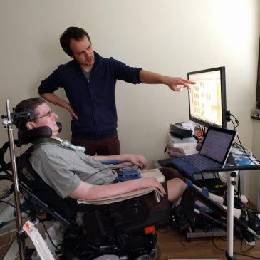 Computersteuerung für ALS-Patient