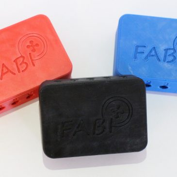 FABI update: new 3D printed cases